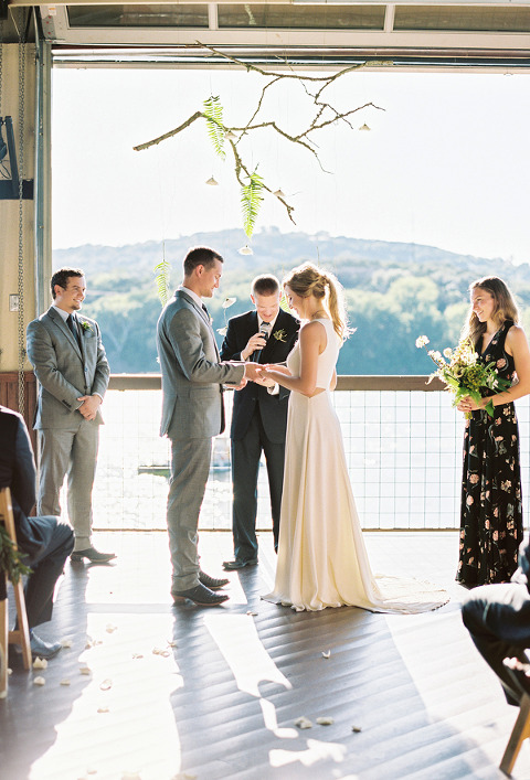 Picture of Hill Country Wedding Ceremony